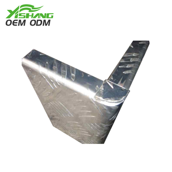 Excellent quality aluminum solder weld sheet metal fabrication