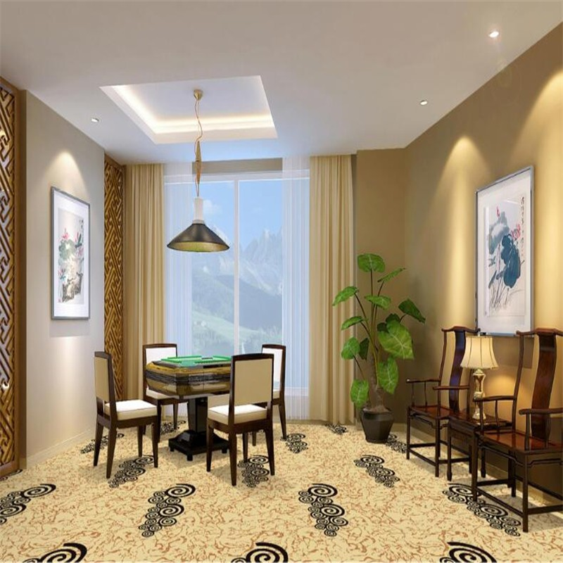 Floral wall to wall carpet design chess room carpet buy for Floral pattern wall to wall carpet