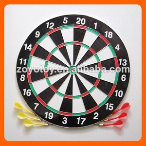 2015 christmas gifts Paper target darts