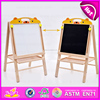2016 new design wooden toy easel,high quality wooden easel,hot sale baby wooden toy easel W12B033