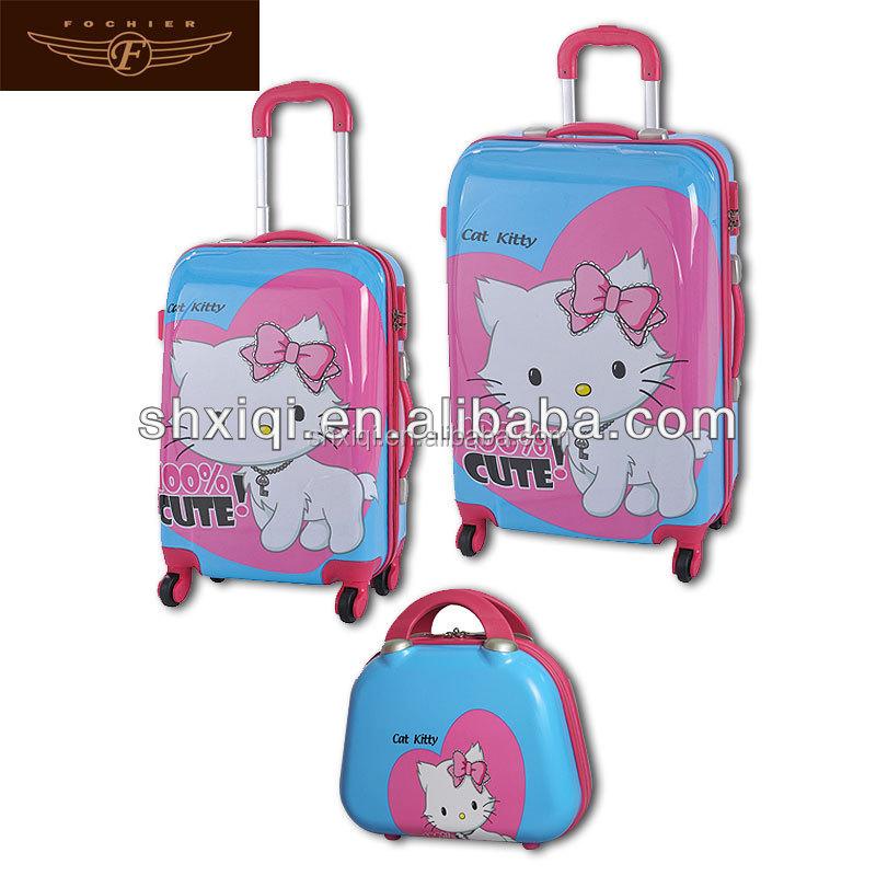 Kids Rolling Luggage Case Kids Trolley Suitcase, Kids Rolling ...