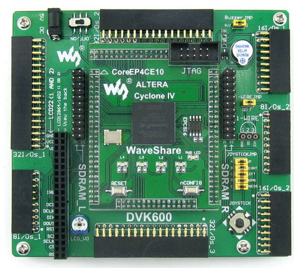 Ep4ce10 Ep4ce10f17c8n Altera Cyclone Iv Fpga Development Board Kit All I/o  Expander = Openep4ce10-c Standard - Buy Altera Cyclone Iv Cpld & Fpga