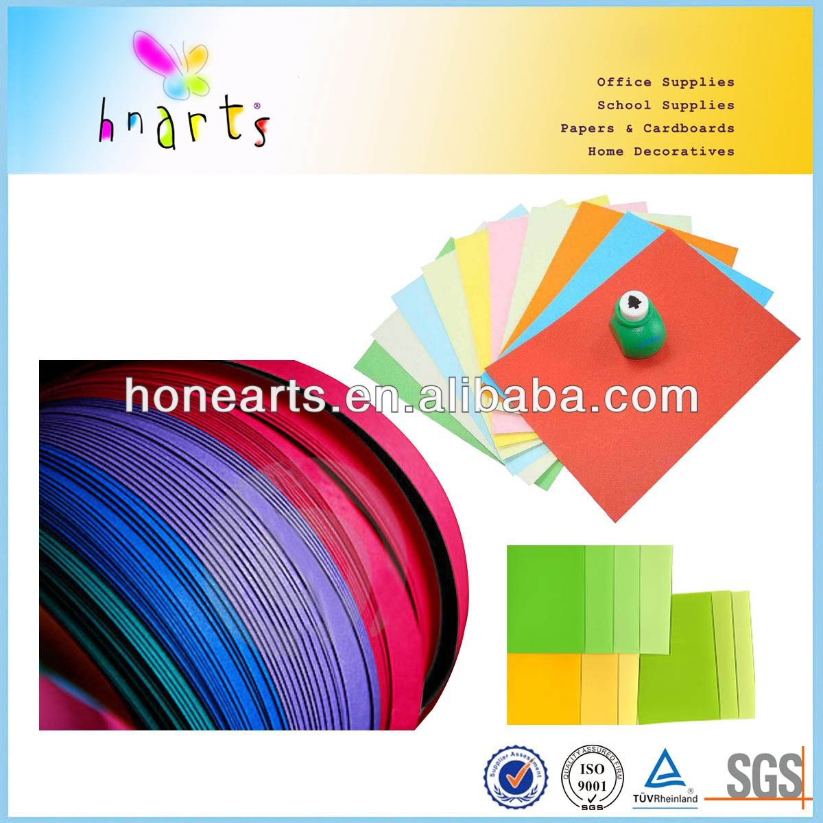 color card paper/coloring book paper/different colors paper