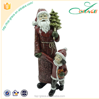 Factory custom resin high quality Santa Claus christmas items wholesale