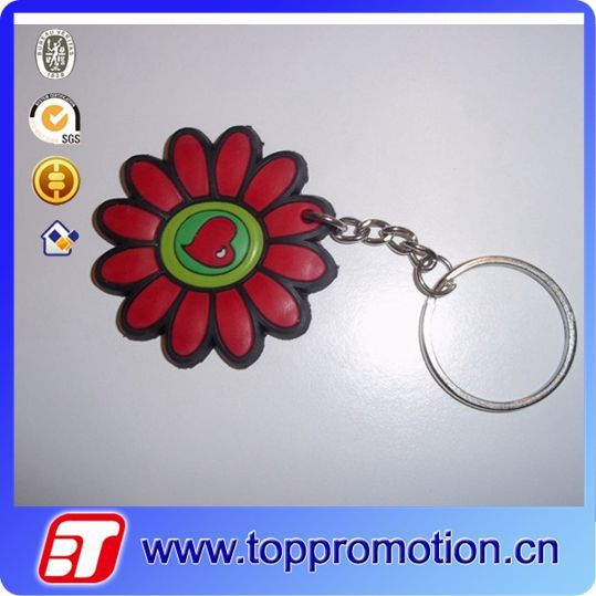 New design hot sale custom soft pvc key chian