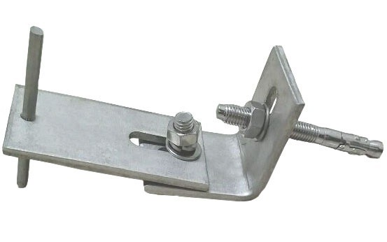 Marble Angle Shaped Metal Stainless Steel Bracket With