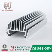 Guangzhou custom extruded aluminum heat sink factory