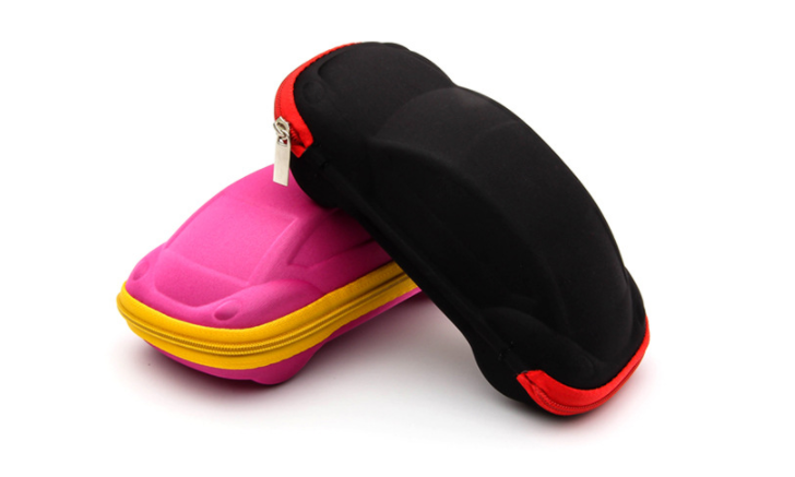 cute lovable colorful model car kid sunglasses case