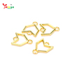 Gold Plated Metal Bracelet Star Shaped Beads Charms Bracelet Jewelry Connector DIY Star Bead Accessories