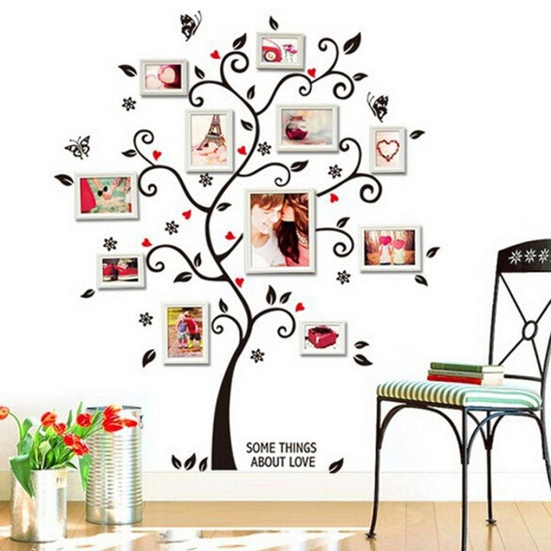 Oksale® Frame Tree Wall Stickers Papers PVC Art Vinyl Removable Bedroom Living Room Home Applique Mural Decor Decal