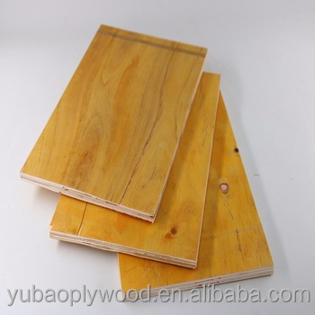 yubao brand wood pvc film aluminium laminated plywood