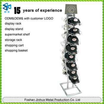 bac952815b4 Custom high quality metal display rack for caps baseball cap holder hat  rack stand