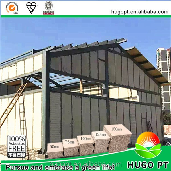 Low Price Insulated Prefabricated Roof Eps Concrete Sandwich Wall Panel