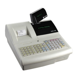 Cash register machine Fiscal ECR Supermarket cash register Till cash  register Plastic