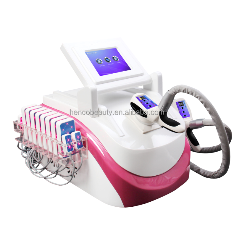 5 in 1 cryolipolysis vacuum cavitation lipolaser for fat reduction