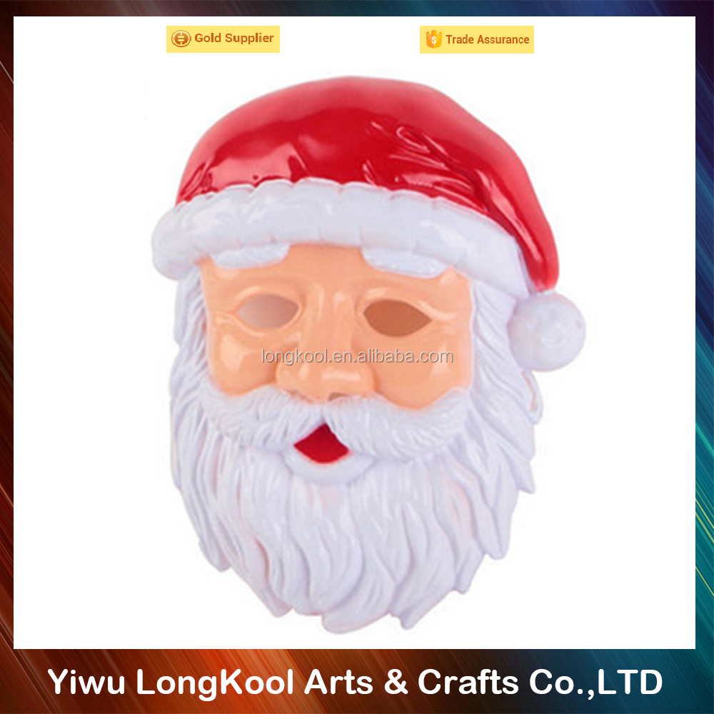 Top quality masquerade santa claus mask adult christmas mask
