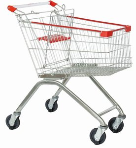 80L Supermarket grocery shopping trolley cart