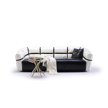 wholesale dealer 03b34 ab1a3 Custom design black in white leather sectional sofa,ginotti sofa furniture  factory, View custom leather sofa, Ginotti Product Details from Dongguan ...