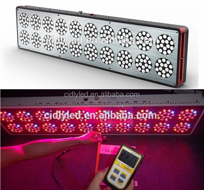 CIDLY CE ROHS FCC Listed hot sale in USA Canada UK Germany high power 1000w led grow light