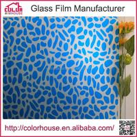 high quality self adhesive plastic film glass window covering