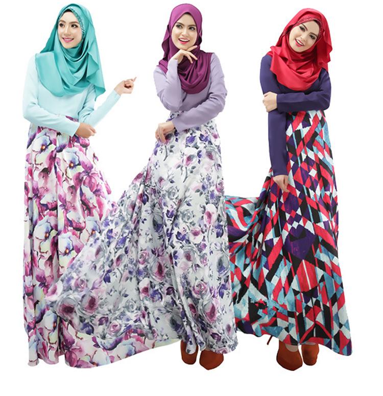54927a4d31b14 China Supplier Arabic Wedding Dress Malaysia Long Abaya Egypt ...