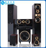 5.1ch passsive technics home theater system with crossover point control(SP-6689A)