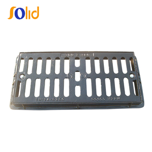 EN124 Ductile Iron Road Drainage Gully Grating Cover