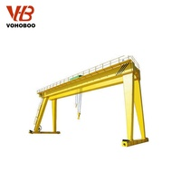 2019 hot sale customized MH Model 2 3 5 10 ton 4 wheel A frame mini small portable mobile gantry crane for sale