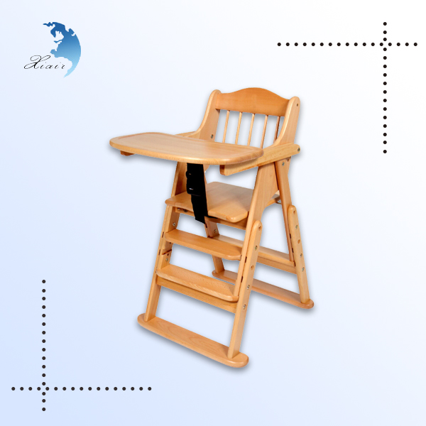 Best selling high quality modern design baby dining chair wood