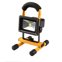 Hight Quality Portable outdoor application 10w rechargeable led flood light