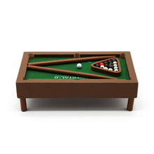 Indoor tafelblad 2 speler mini houten pooltafel game set