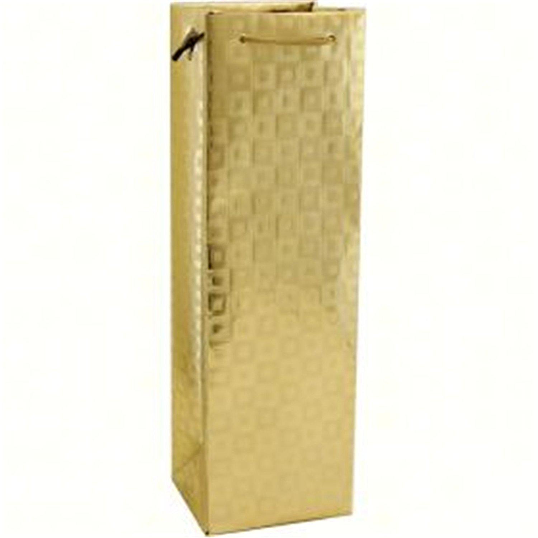 Bella Vita BVM1GOLD Holographic Single Wine Bag - Gold