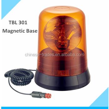 12v /24v Waterproof Halogen Rotating Warning Beacon Lamp ...