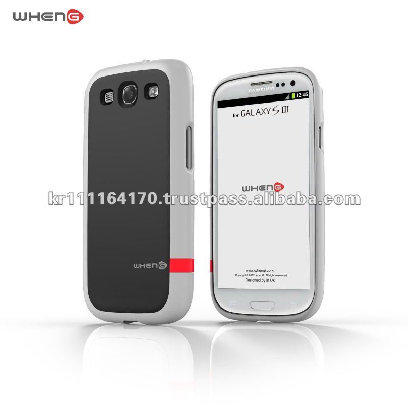 Hard Case for SAMSUNG Galaxy S3 I9300 (White / Black)