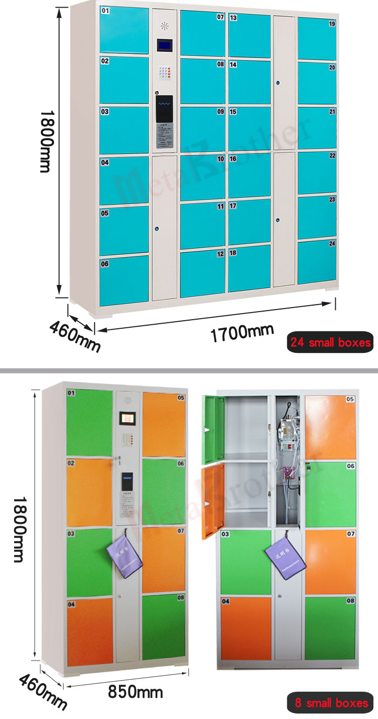 RFID/Fingerprint/Bar Code/Facial Recognition Smart Locker Electronic lockers
