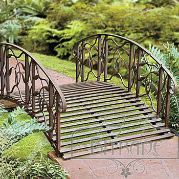 Metal Garden Bridge
