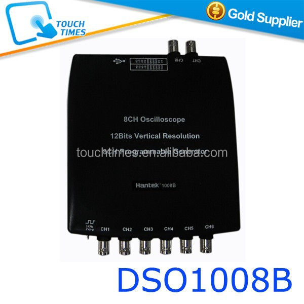 Hantek1008B 8CH USB Auto Scope/DAQ / 8CH Generator 8 Channels Automotive Diagnostic Oscilloscope