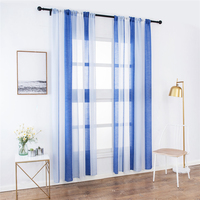 Amazon Top Seller 2019 Used Hotel High-Grade Linen Look Curtain, Made In China Sheer Linen Curtain Panel/