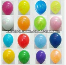 Pearlized Latex Balloon 2012 new models