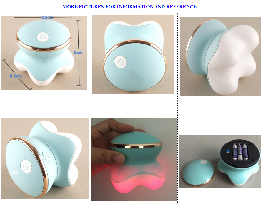 Hot sell 3AAA battery operated waterproof hand body point vibrating electric mini massager