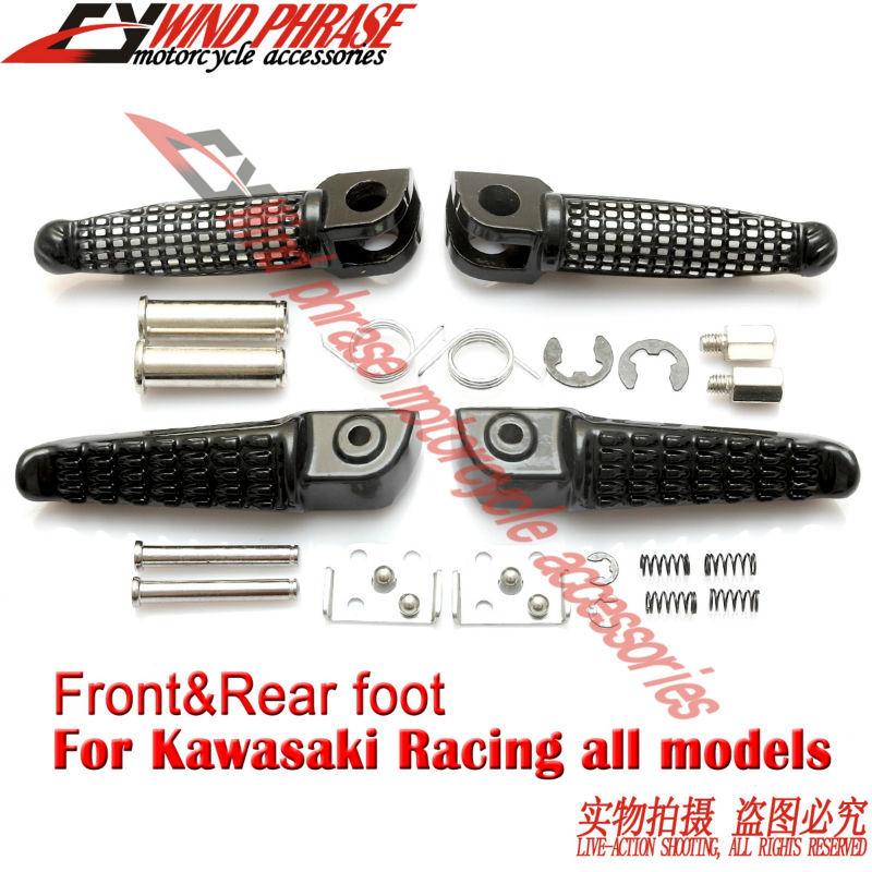 Мотоцикл передняя и задняя подножки нога колышки для Kawasaki ниндзя ZX-6R ZX636 ZX-9R ZX-10R ZX-12R ZX-14R все гонки
