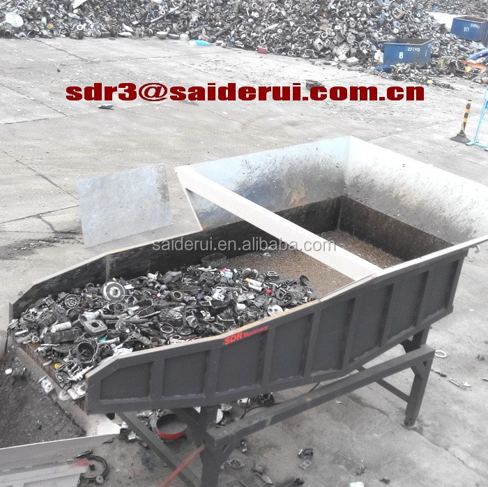 Aluminum Alloy Shredder Scrap Car Wheels Crusher