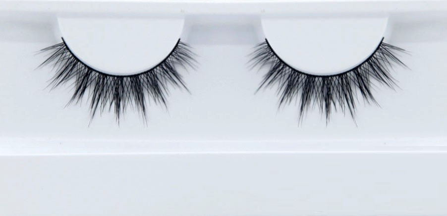 natural looking handmade 3D real mink fur false eyelash Makeup artist