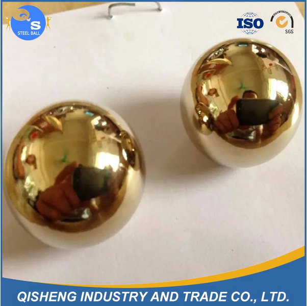 AISI 1010 copper plated high carbon steel ball with 58-62 HRC