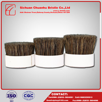New design fashion low price interior paint brush set , Pure Natural Bristle Flower