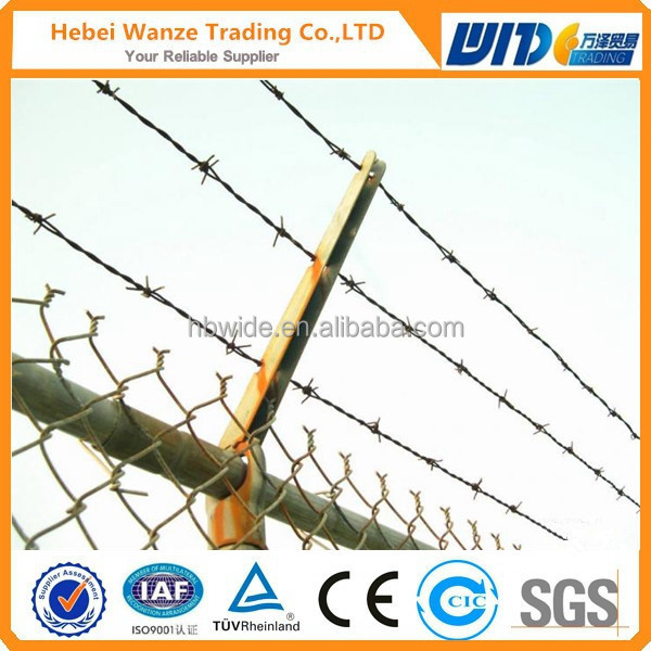 Best Price Barbed Wire Machine / Barbed Wire Length Per Roll ...