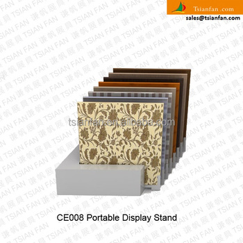 CE008---Tilel flooring portable display stand