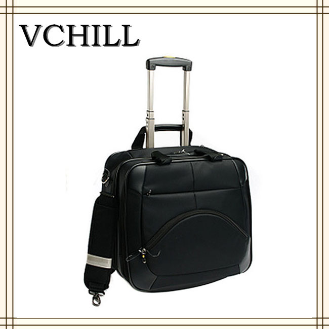 Fashion trolley travel document bag neoprene laptop case