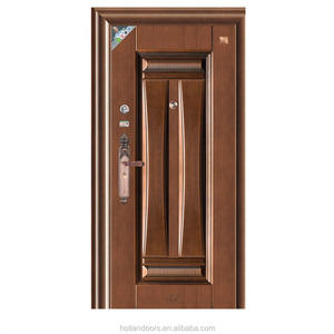 China doors in ghana cheap house doors safety used metal security screen doors for apartment house