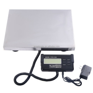440 lbs x 0. 1 Lb Digital Floor Bench Platform Postal Scale KG/LB/OZ 200Kg